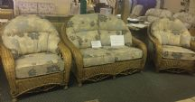 Regency Sofa & Two Chairs